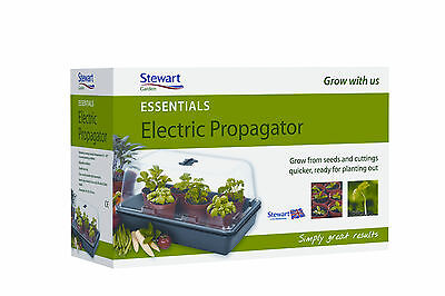 Stewart 38cm Essentials Electric Heated Seed Plant Propagator