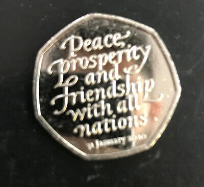 50p BREXIT COIN 2020