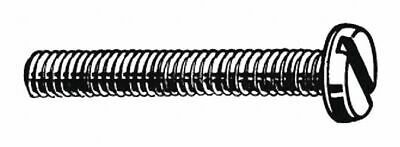 Fabory M3-0.50mm Machine Screw,  Pan,  Slotted,  A2 Stainless Steel,  Plain,