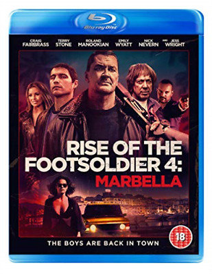 Rise Of The Footsoldier 4 Marbella BLU-RAY NEW