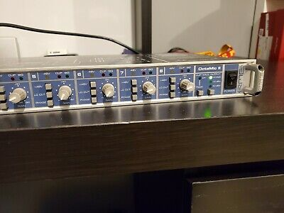 RME preamp OctaMic II  Audio  8-channel Mic Preamp incl.192 kHz AD-Conversion