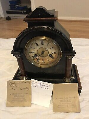 Antique Chiming  Clock Working, German Made.
