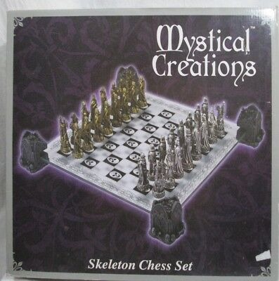 Mystical Creations SKELETON CHESS SET