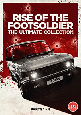 Rise Of The Footsoldier The Ultimate Col DVD NEW