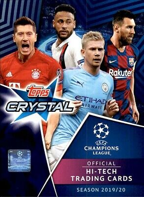 Topps Crystal Uefa Champions League 2019 - 2020 LIMITED EDITION