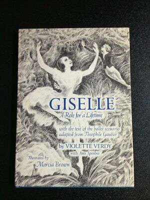 Giselle: Role for a Lifetime by Verdy, Violette Hardback Book The Fast Free