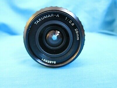 Genuine Pentax TAKUMAR-A 28mm 1:2.8 Lens Working but mold found - Need cleaning