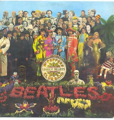 "Beatles - Sgt. Pepper's Lonely Hearts Club Band - 12"" Vinyl Lp (Mono)"