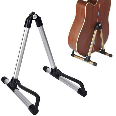 Guitar Bass Stand Holder Foldable Acoustic Electric Guitar Bass Stand Holde- TD