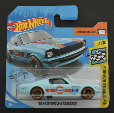 Hot Wheels 2020 ´65 Ford Mustang 2+2 Fastback Hw Speed Graphics Gulf Neu & Ovp