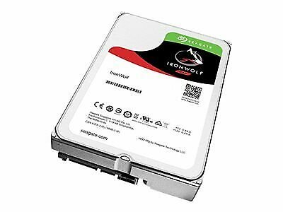 "Seagate IronWolf Hard drive 2 TB internal 3.5"" SATA 6Gb/s 5900 rpm ST2000VN004"