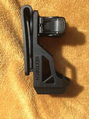 Bla... NEXTORCH NXV5 V5 Tactical Flashlight Holster with Lever Side Lock System