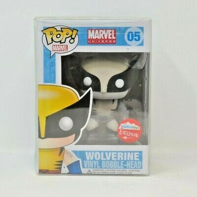 Funko Pop! Black & White Wolverine 05 Fugitive Toys Exclusive *Free Shipping*