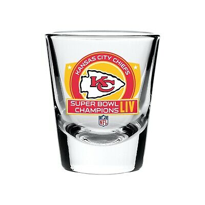 Kansas City Chiefs 2020 Super Bowl LIV Champions NFL Football 2oz Shot Glass