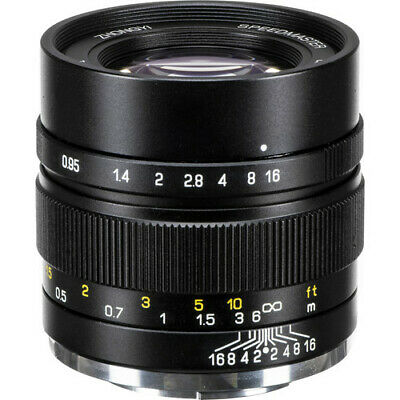 Mitakon Zhongyi Speedmaster 35mm f/0.95 Mark II Lens for Canon M (Black)