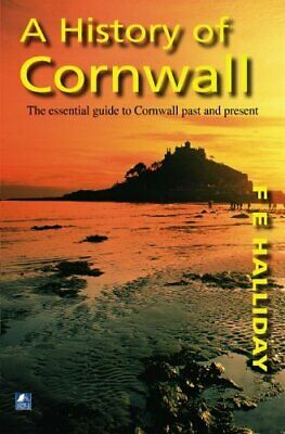A History Of Cornwall by Halliday, F. E. Book The Fast Free Shipping