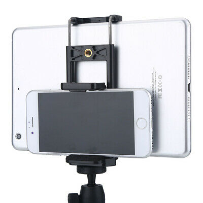 Tripod Adapter Phone Holder Clip Stand Mount Bracket For Phone Tablet Camera F3