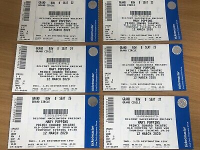 Mary Poppins London Tickets - 12th March