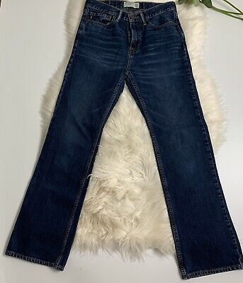 Abercrombie And Fitch Bootcut Boys Jeans Size 15/16 Mint Condition