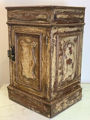 19Th Century French Painted Pot Cupboard