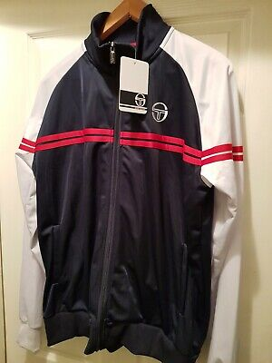 Sergio tacchini, Track Top,  Rerto Style, XL size, Brand new with tag