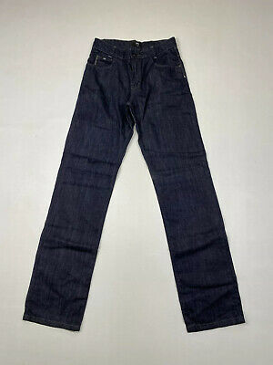 HUGO BOSS Straight Jeans - Age 16 W28 L32 - Navy - Great Condition - Boys