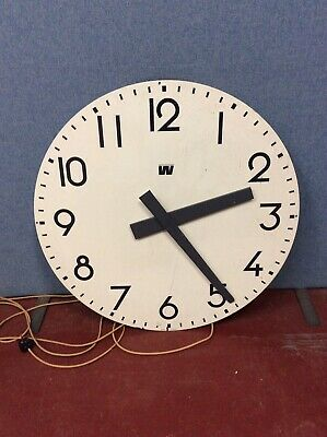 Westerstrand Turret or Tower large Electric Wall Slave Clock