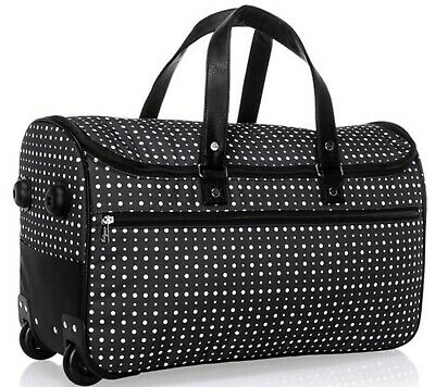 Thirty-One Wheels-Up Roller - Ditty Dot Travel Bag Roll On Wheels