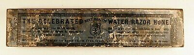 """Escher & Co """"The Celebrated Water Razor Hone"""" Barber's Sharpening Stone Germany"""