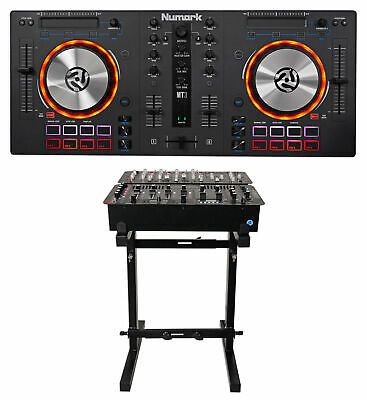 Numark Mixtrack 3 All-in-one DJ Controller For Virtual DJ Mixtrack III + Stand
