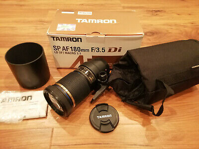 TAMRON SP 180mm F/3.5 Di LD MACRO 1:1 B01 Lens for Canon EF Mount - Parts Only