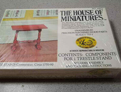 X-acto The Doll House of Miniatures/Trestle Stand #40072 Vintage