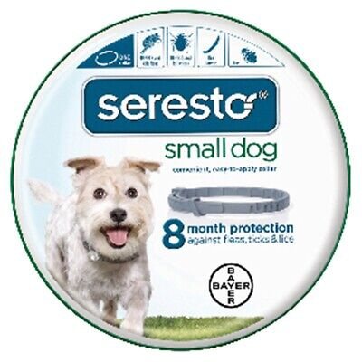 Bayer Seresto Small Dog Up To 18 Lb Flea & Tick Collar 8 Month Protection