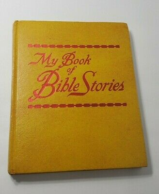 My Book of Bible Stories Vintage 1978 Hardcover Watch Tower Jehovhah's Witness
