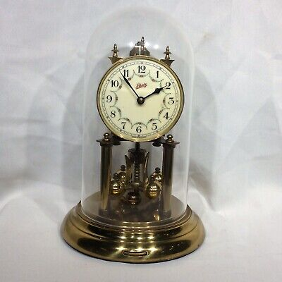Vintage Perpetual Anniversary 400-day clock by Schatz Under Dome