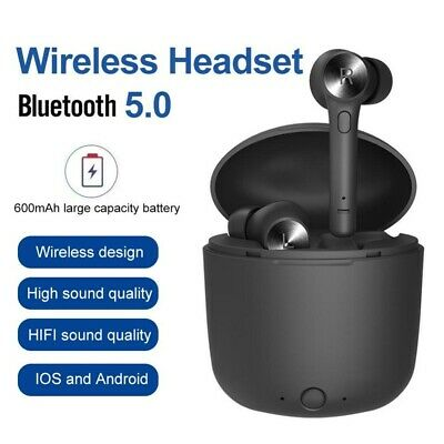 Bluedio Hi wireless bluetooth earphone stereo charging box sport earbuds headset