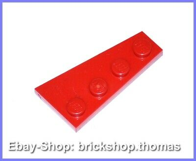 red rot LEGO ® 10x 2x4 Platte 2x4 plate 3020