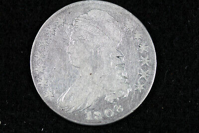 Estate Find 1808 Capped Bust Half Dollar  #D19584