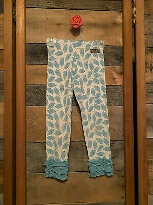 Matilda Jane 2013 paint by Numbers Collection: Sea Bird Leggings, Size 6