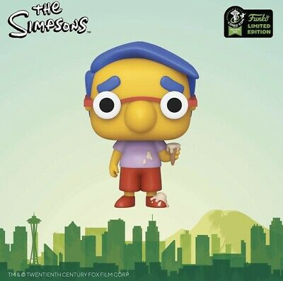 ECCC The Simpsons Milhouse Funko Pop Shared Pre Order