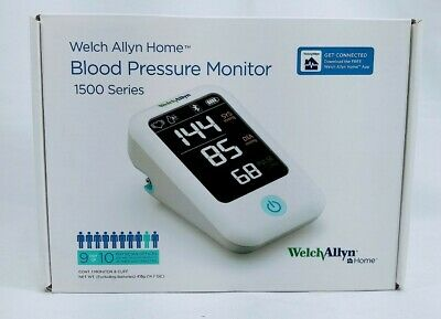 Welch Allyn Home 1500 Series Blood Pressure Monitor with Easy Blueto..