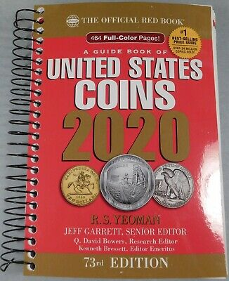 2020 RED BOOK - PRICE GUIDE TO U.S. COINS - The newest Red Book - 73th Edition