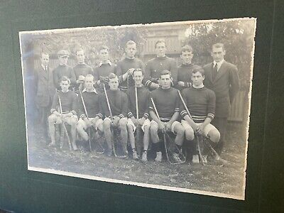 Large Old Lacrosse Team Portrait Photo South Australia c1920