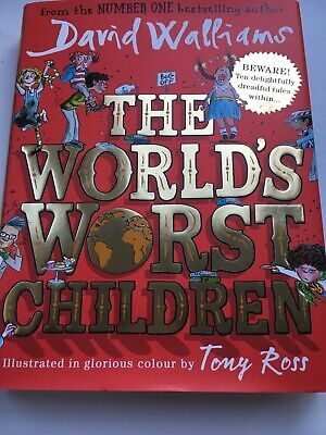 The World's Worst Children by David Walliams As New Hardcover Book