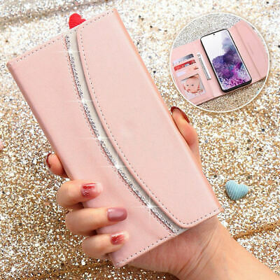 Samsung Galaxy S20 Plus Ultra S10 S9 S8 S7 A20 A50 A70 Wallet Case Leather Cover