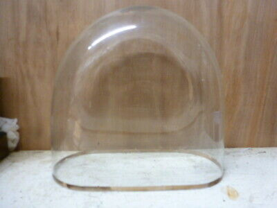 Victorian glass display dome for clock or taxidermy