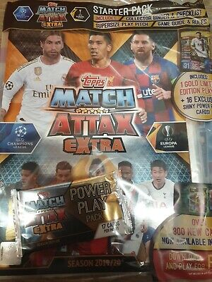 Match Attax Extra 2019/20 Starter Pack 19/20 Latest Brand New Sealed