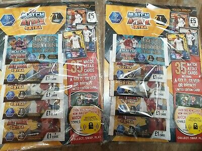 Match Attax Extra 2019/20 2x Multi Pack 19/20 Latest Brand New Sealed