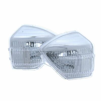 Ford Galaxy 2010-2016 Clear Door Mirror Indicator Light Pair Left & Right