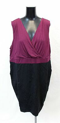 Torrid Womens Premium Ponte Jersey Sheath Dress EW9 Purple Size 2 (US:18-20) NWT